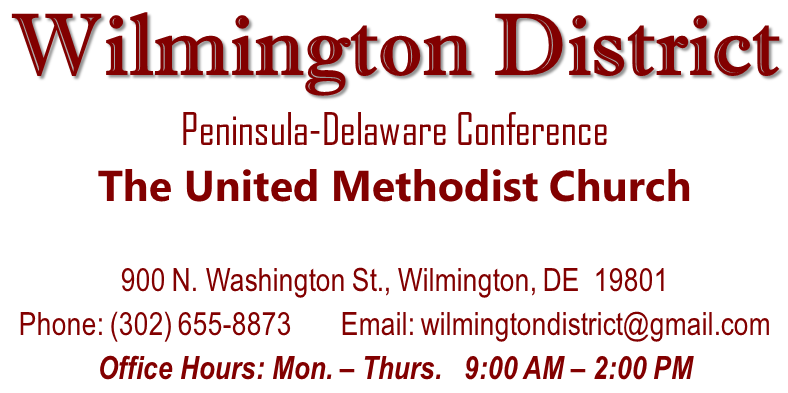 Peninsula-Delaware Wilmington District Home Page
